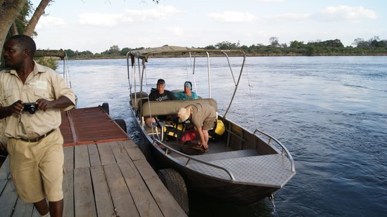 Kiambi Safaris: Elephant on the bank of the Zambezi