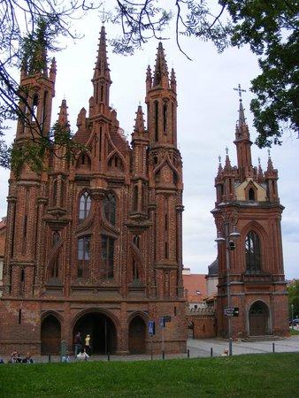 St. Anne's Church: Фасад костела Св. Анны