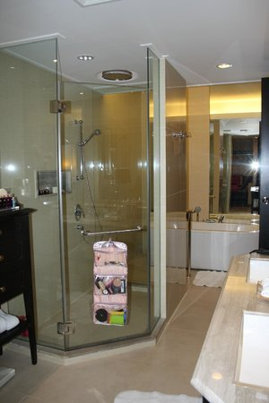 Dusit Thani Pattaya : Massive bathroom with seperate bath and shower