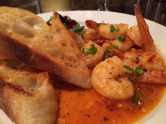 Oly rockfish grill: wicked shrimp