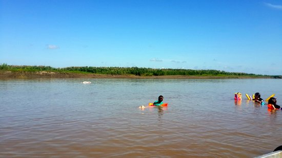 Muyuna Amazon Lodge: nadando con delfines rosados