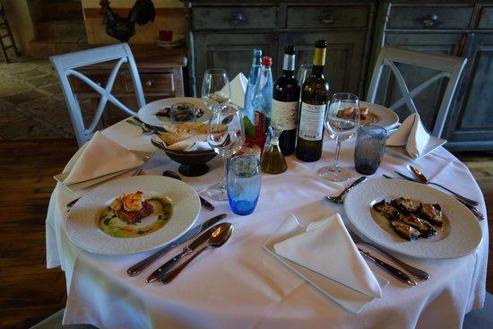 Domaine de Bournissac: 已經上好的前菜