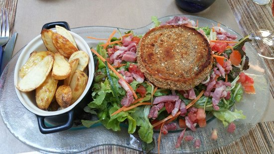 Un Bouchon en Provence : Salade de Gones geante ;)