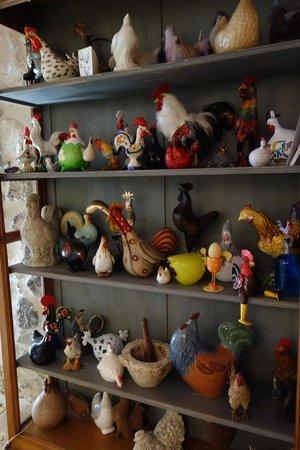 Domaine de Bournissac: 店內的收藏品