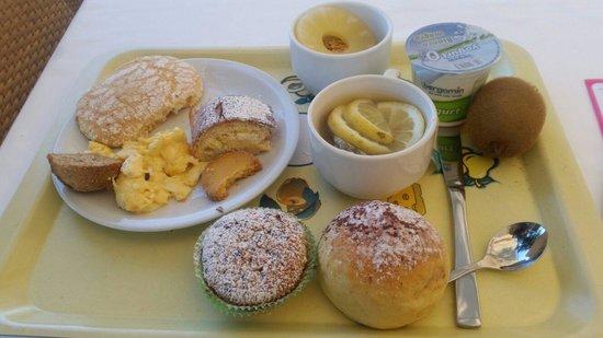 Club Lipari Hotel : Petit dejeuner