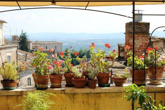 Anna Hotel: Panorama dal terrazzino