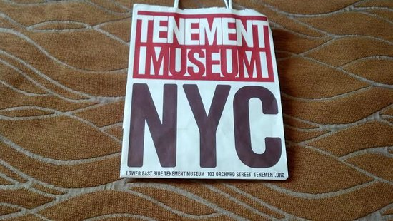 Tenement Museum: No pictures are allowed to be taken. Sorry I should have taken a picture of the outside.