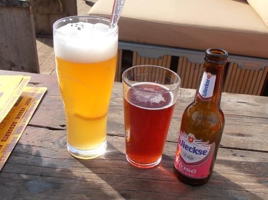 Solbeach: Local beer