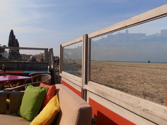 Solbeach: the lounge and the view