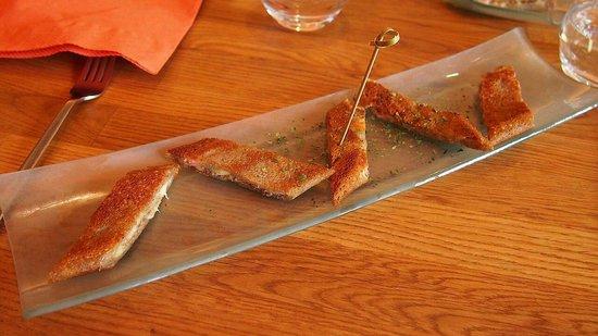 Le bar a crepes : Entrée roll jambon fromage