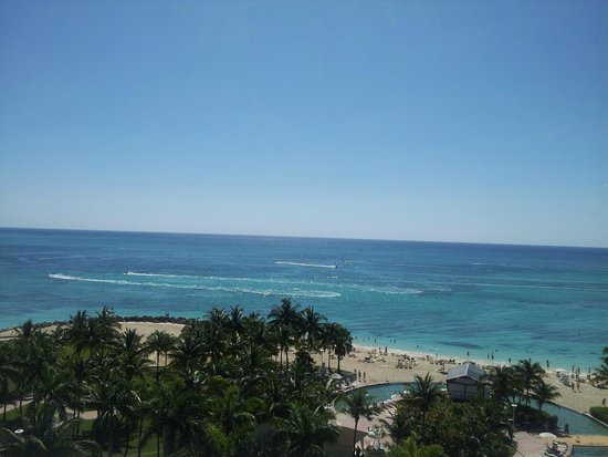 Grand Lucayan, Bahamas: View from our balcony
