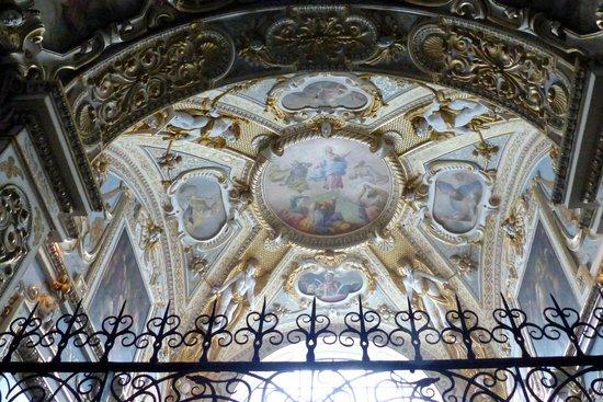 Michaelerkirche: Ceiling fresco