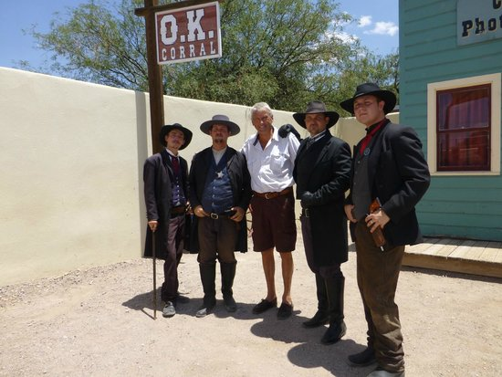 O.K. Corral: Some of the Actors from OK Corral Gunfight