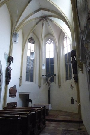 Michaelerkirche: Gothic nave and structure