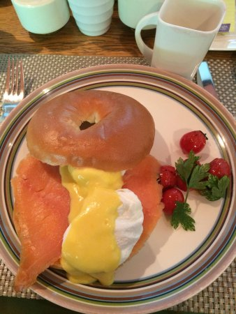 The Opposite House: Salmon benedict