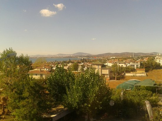 Bayramoglu Resort Hotel: View from the room