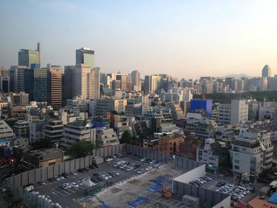 InterContinental Seoul COEX : View from room