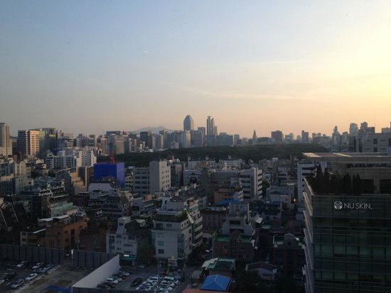 InterContinental Seoul COEX : View from room 2