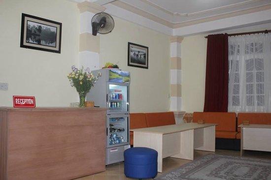 Dalat Central Hostel : Reception