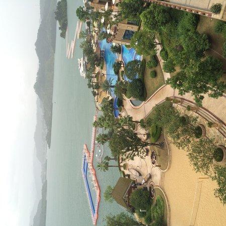 Hilton Hangzhou Qiandao Lake China: Вид из номера