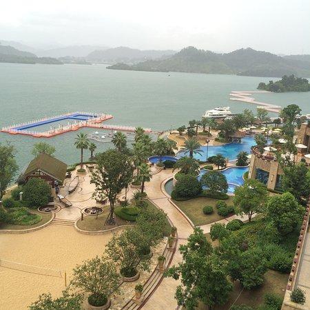 Hilton Hangzhou Qiandao Lake China : Вид из номера