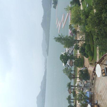 Hilton Hangzhou Qiandao Lake China : Территория отеля