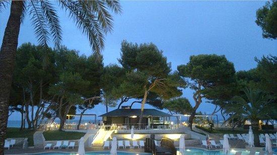 Iberostar Playa de Muro Village : Вечерний вид с балкона