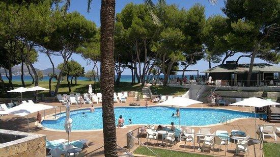 Iberostar Playa de Muro Village : Вид с балкона номера