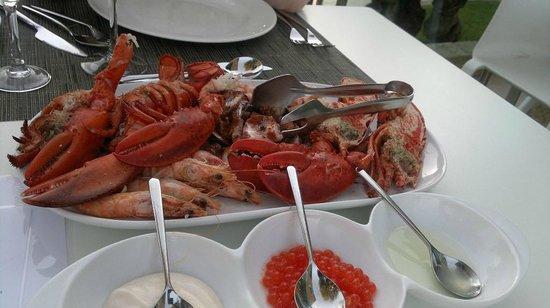 Iberostar Playa de Muro Village: Блюдо ресторана морепродуктов