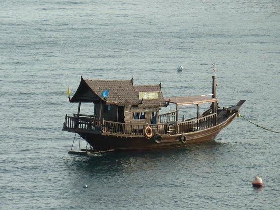 Jamahkiri Resort & Spa : la jonque pour la plongée