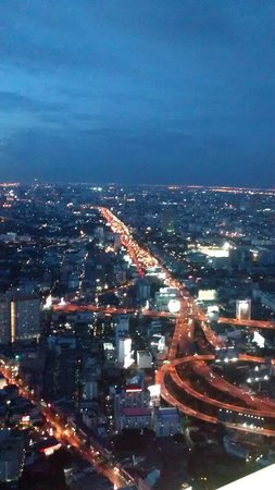 Baiyoke Sky Hotel: sky view