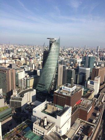 Nagoya Marriott Associa Hotel: Corner room view
