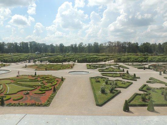 Rundale Palace Museum (Rundales Pils): garden