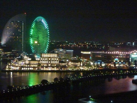 Yokohama Sakuragicho Washington Hotel : Night View