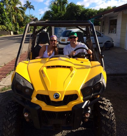 side by side buggy picture of albert atv fun tours moorea tripadvisor. Black Bedroom Furniture Sets. Home Design Ideas