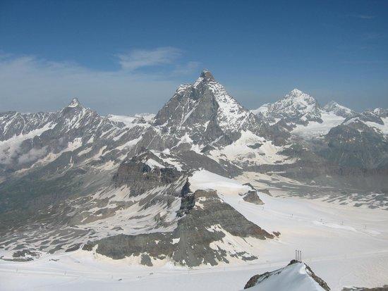 The Matterhorn: グレーシャーパラダイスから