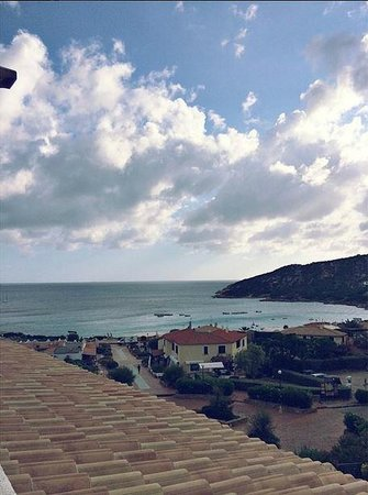 Hotel Punta Est: View from the balcony