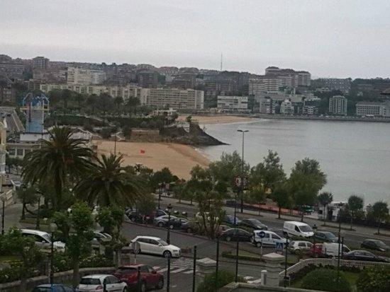 Gran Hotel Victoria : Las vistas desde mi terraza al Sardinero