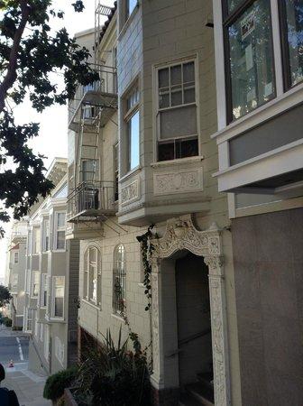 Lombard Street: houses