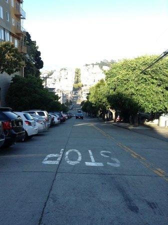 Lombard Street: the carpark