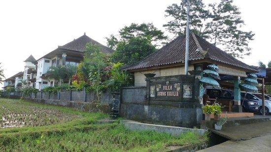 Villa Agung Khalia : L'entrée de l'hôtel