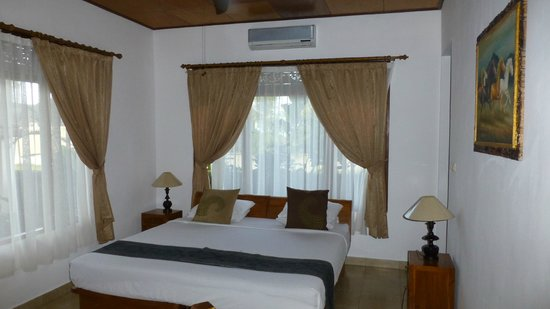 Villa Agung Khalia: La chambre du rez-de-chaussée