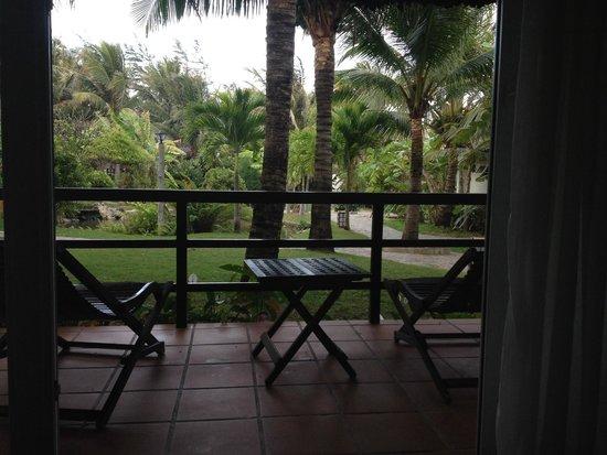 TTC Resort Premium - Ke Ga: Вид из номера на пруд