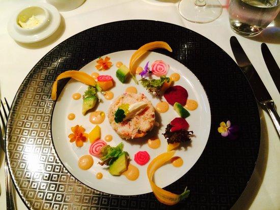 Restaurant Müli: Crab salad
