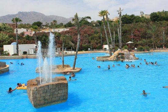 Aqua Natura : Panorámica de la piscina principal