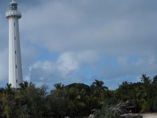 Isla del faro Amedee: Lighthouse