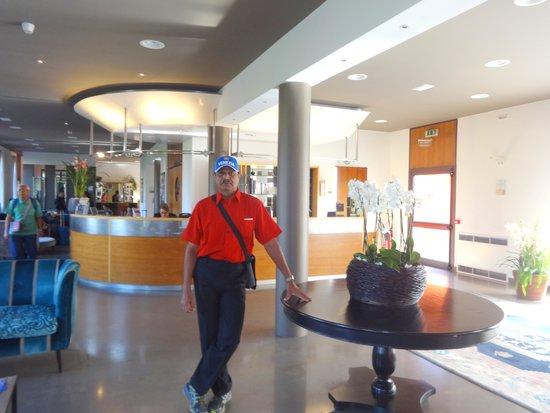 Hotel Filanda: inside the hotel near lobby