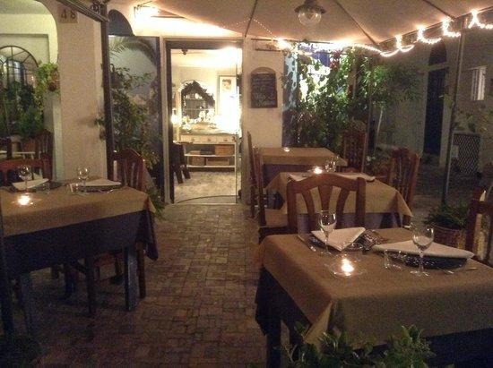 Villa Marina Sitges: Terraza