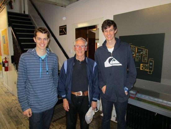 Scottish Maritime Museum: Bonus meeting