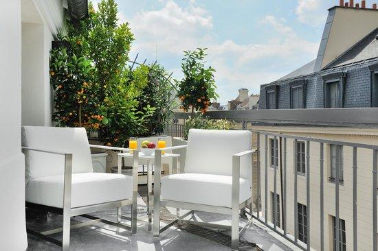 Hotel Baume: La terrasse de la Deluxe Terrasse